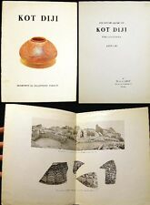 1958 PAKISTAN ARCHEOLOGY KOT DIJI SITE EXCAVATIONS ILLUSTRATED