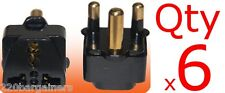 Plug Adapter 6 Pack - South Africa - For Type M BS546 Electrical outlet