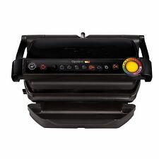 T-fal GC702853 OptiGrill Indoor Electric Grill with Removable Plates Black New!!