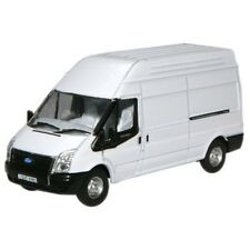 Oxford Diecast Model 1:76 White Transit Lwb High Ford White Van Collectable Gift