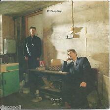 """PET SHOP BOYS - It's a sin - VINYL 7"""" 45 RPM LP 1987 VG+ COVER VG+ CONDITION"""