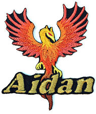 Phoenix Custom Iron-on Patch With Name Personalized Free