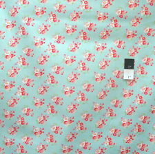 Tanya Whelan PWTW065 Rosey Cherry Blossom Teal Cotton Quilting Fabric By Yard