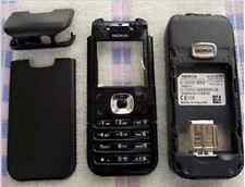 Full black Housing Cover Facia skin Fascia Faceplate for nokia 6030     98098064