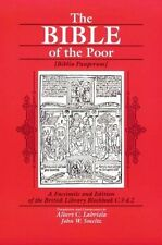 The Bible of the Poor: A Facsimile and Edition of the British Library Blockbook
