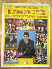 Boston College Eagles DOUG FLUTIE 1984 HEISMAN TROPHY WINNER Poster