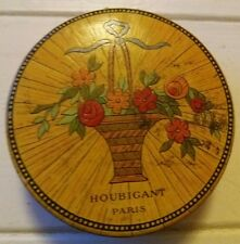Vintage Houbigant Paris France Quelques Fluers Powder box Houbigant Perfume