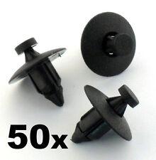 50x Volvo Kunststoffnieten Verschluss Clips- Für leiste platten,stoßstange,