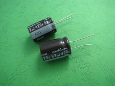 5pcs Nichicon 420V 82uF 18x25mm  Aluminum Electrolytic Capacitor 105°C
