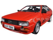 1981 AUDI QUATTRO COUPE RED 1/18 DIECAST CAR MODEL BY SUNSTAR 4158 R