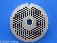 "#8 x 1/8"" fine hole size meat grinder chopper plate disc for electric or manual"