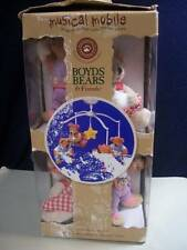 Boyds Bears & Friends ~❤️~ Musical Mobile for Baby Crib Nursery
