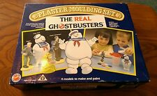 VINTAGE 1984 THE REAL GHOST BUSTERS PLASTER MOULDING SET STAY PUFT Slimer retro