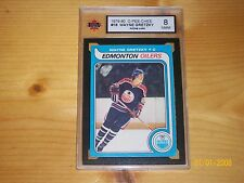 1979-80 WAYNE GRETZKY ROOKIE OPC O-Pee-Chee #18 KSA 8 NM-M FIRST PRINT RUN! Set