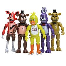 5PCS Five Nights at Freddy's FNAF Action Figures With LIghts Children Toys Gift