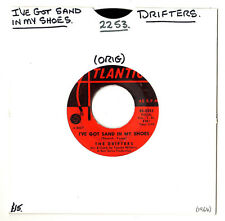 "SOUL.DRIFTERS.I'VE GOT SAND IN MY SHOES / HE'S JUST A PLAYBOY.U.S.ORIG 7"".VG+"