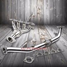 Stainless Steel Exhaust Header Manifold For Hyundai 95-99 Accent 1.5L L4 SOHC
