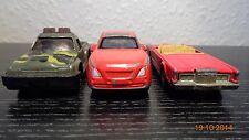 3 Matchbox car corgi size job lot bundle Lincoln US pick up truck BMW Lexus etc