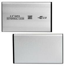"USB2.0 SATA HDD HD 2.5"" Alumium Hard Drive Disk External Enclosure Caddy Case"