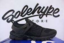 ASICS GT DS TRIPLE BLACK H6G3N 9090 SZ 9.5