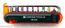 PB SWISS TOOLS 470.RED  BIKETOOL Fahrradwerkzeug Taschenwerkzeug Set NEU