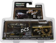 2015 CHEVROLET SILVERADO 1980 FIREBIRD SMOKEY & BANDIT 2 1/64 GREENLIGHT 31010B