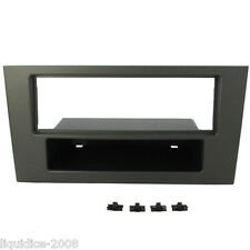 CT24FD14 FORD MONDEO MK3 2004 to 2007 DARK GREY SINGLE DIN FASCIA ADAPTER