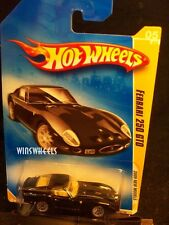 HOT WHEELS 2009 FE #5 -2 FERRARI 250 GTO BLAK LACE NMC AMER