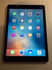 Apple iPad Air 1 Space Gray 16GB Wi-Fi+4G ME993LL/A  A1475 with New Screen