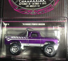 1/64 2015 29th Hot Wheels Convention  70 Dodge Power Wagon Truck