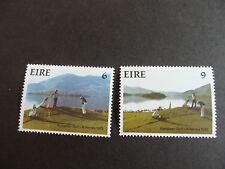 IRELAND 1975 SG 373-374 NINTH AMATEUR GOLF TEAM MNH