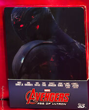 AVENGERS: AGE OF ULTRON  3D & 2D Blu-Ray Steelbook Ships In 24 Hours
