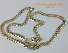 "20"" 14K Yellow Gold Cuban Link Chain Necklace 6mm 22.9g Pendant Chain"
