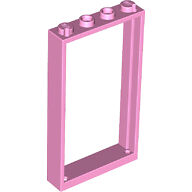 Lego 60596 Loose Parts Pink Door Frame 1x4x6 NEW 2X