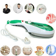 Electric Portable Handheld Brush Steamer Iron For Fabrics Garments Clothes dgh