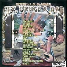 "POETIC 1 & D -DIGGS CD: ""SEX, DRUGS AND RAP"" 1999 E-40/MAC MALL/E A SKI/SPICE-1"