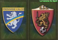 526 SCUDETTO FROSINONE CALCIO US.GROSSETO ITALIA STICKER CALCIATORI 2011 PANINI