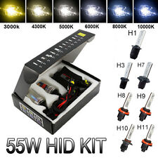 55W HID Xenon Conversion Kit H10 9145 9006 For Toyota Honda Civic 96+ Prelude83+