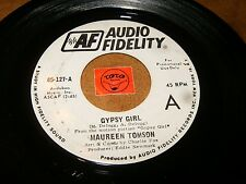 MAUREEN TOMSON - GYPSY GIRL - FLY ME TO THE MOON    / LISTEN - GIRL  POPCORN