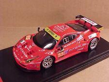 Fujimi 1/43 Resin Ferrari 458 Italia GT2, 2013 LeMans, INTERUSH, #55 #FJM1443003
