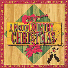 A MERRY COUNTRY CHRISTMAS -VAR (CD) SKEETER FARGO RAVEN RILEY GREENE STAMPLEY