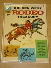 DELL GIANT GOLDEN WEST RODEO TREASURY #1 VG+ (4.5) OCTOBER 1957