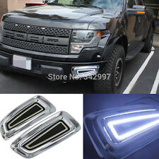 Fit 2010-2014 Ford F150 Raptor 156-LED High Power LED Daytime Running Lights Fog