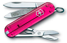 0.6203.T5 Victorinox Classic Sd Swiss Army Knife Pink Pocket Knife 54005 58005