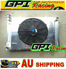 Aluminum Radiator +Shroud +fan FOR Holden V8 Commodore VG VL VN VP VR VS Manual