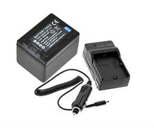 New 2pc BP-727 BP-718 Battery and charger For Canon VIXIA HF M50 HF M52 HF R300