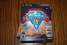 Bejeweled 3 (Sony Playstation 3, 2011) New