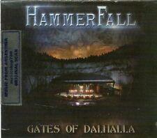 2 CD + DVD SET HAMMERFALL GATES OF DALHALLA SEALED NEW 2013 LIVE