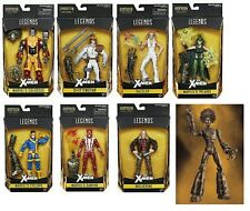 "(P) MARVEL LEGENDS INFINITE SERIES 6"" X-MEN WARLOCK BAF COMPLETE SET OF 8 WAVE 2"