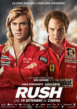 Locandina film Rush 33x70 Poster Cinema